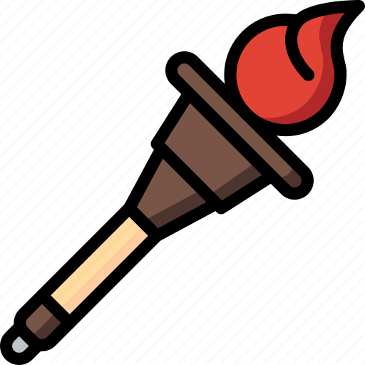 creepy, halloween, scary, spooky, torch icon