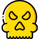 creepy, halloween, scary, skull, spooky icon