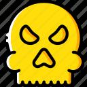 creepy, halloween, scary, skull, spooky