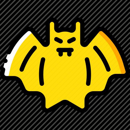 bat, creepy, halloween, scary, spooky icon