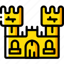 castle, creepy, halloween, scary, spooky icon