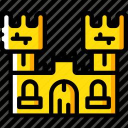 castle, creepy, halloween, scary, spooky icon