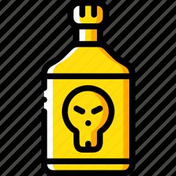 creepy, halloween, poison, scary, spooky icon