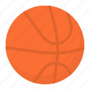 ball, basketball, equipment, sport, team icon