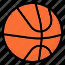 ball, basketball, equipment, sport, team icon