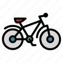 bicycle, bike, cycling, exercise, muantain, sport, transport icon