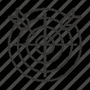 dart, dartboard, darts, goal, target icon