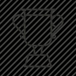 achievement, award, cup, prize, sport, winner icon