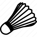 badminton, cock, fitness, kok, shuttlecock, sport icon