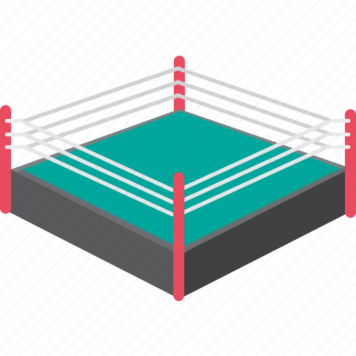 arena, boxing, duel, fight, ring, sport, stadium icon