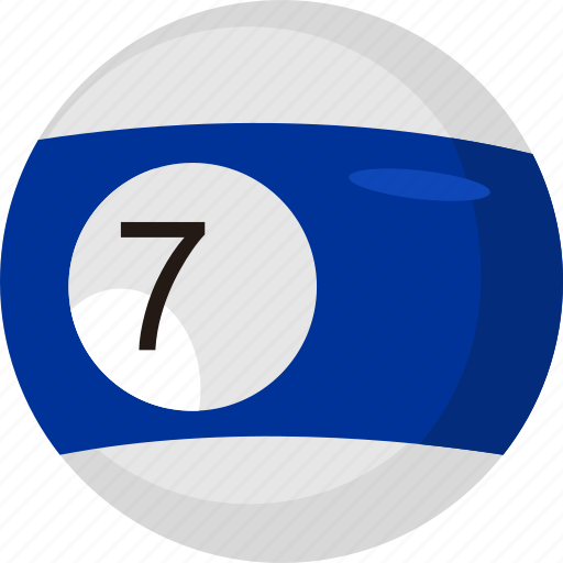 ball, billiard, game, number, object, pool, sport icon