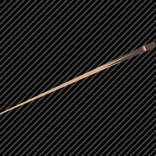 billiard, cue stick, game, object, pool, sport, stick icon