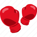 boxing, duel, gloves, hit, object, punch, sport icon