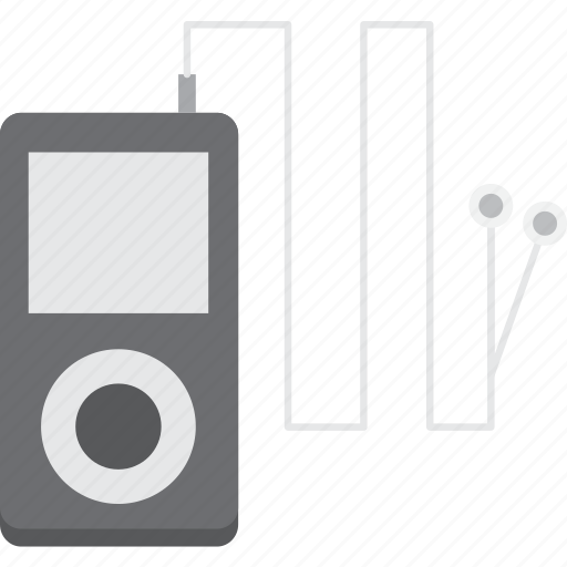 concept, earphone, music, object, sport, technology, tool icon