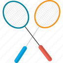badminton, game, hit, object, racket, shot, sport icon