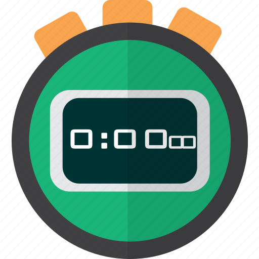 concept, object, sport, stopwatch, technology, timer icon