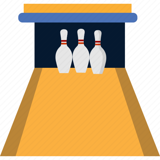 arena, bowling, game, indoors, object, pawn, sport icon