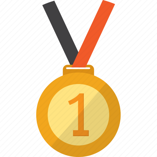 appreciation, award, game, medal, object, sport, winner icon
