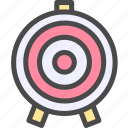 shooting, target icon