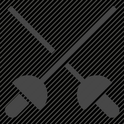 Fencing, sword icon - Download on Iconfinder on Iconfinder