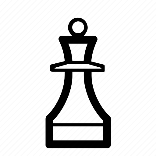 chess, chess piece, game, queen, queen piece, sport, strategy icon