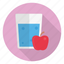 apple, drink, glass, healthy, juice