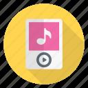 audio, media, mp3, music, player