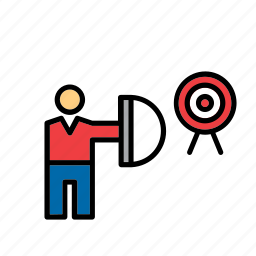 archer, archery, bow, olympic, olympics, sport, sports icon