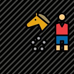 horse, modern pentathlon, olympic, olympics, pentathlon, sport, sports icon