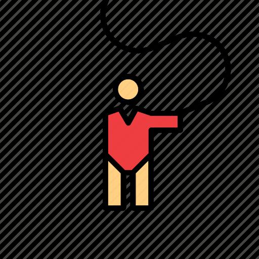 Olympic, olympics, sport, gymnast, gymnastics, rhythmic, ribbon icon - Download on Iconfinder