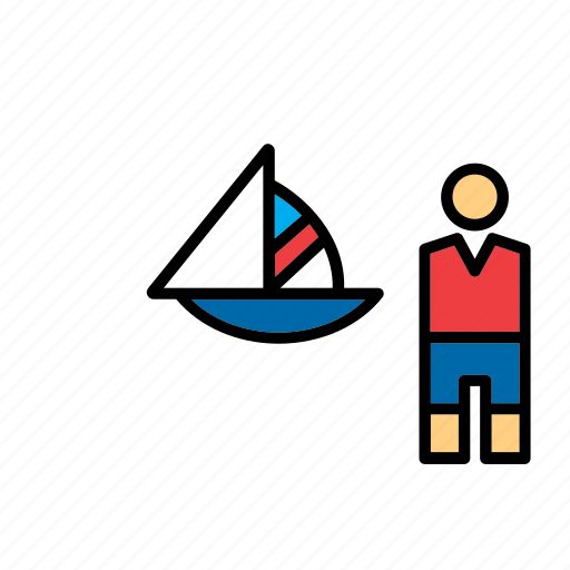 boat, olympic, olympics, sailing, sailing boat, sailor, sport icon
