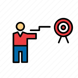 olympic, olympics, shooting, sport, sports, target icon