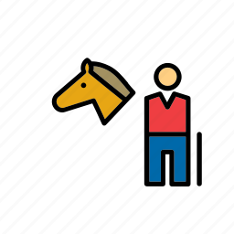 equestrian, equestrianism, horse, horseback, olympic, riding, sport icon