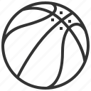 ball, basketball, equipment, game, play, sport, tool icon