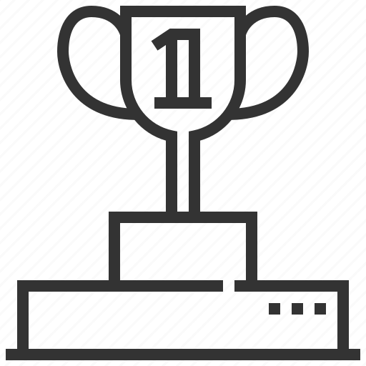 award, equipment, game, prize, sport, winner icon
