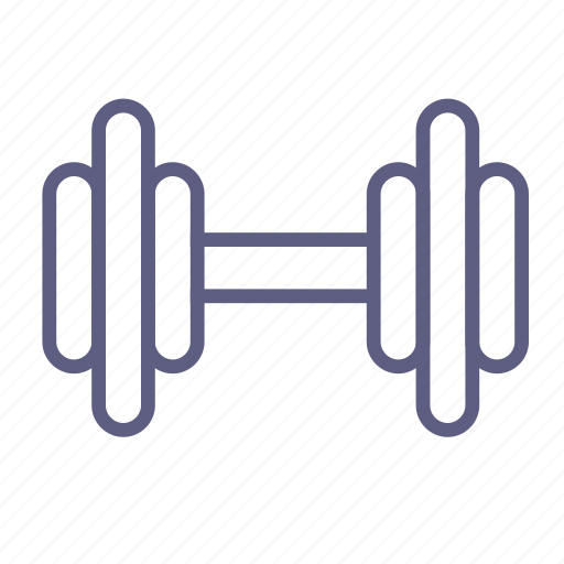 barbell, dumbbell, gym, rod, sport, sportsgear, weightlifting icon