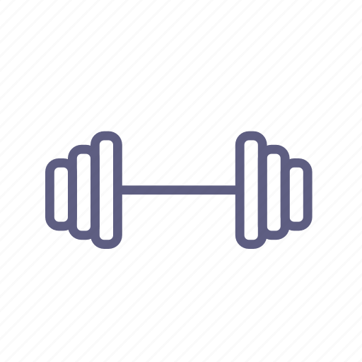 barbell, dumbbell, gym, rod, sport, sportsgear, weightlifting icon