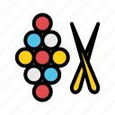 billiard, competition, health, medal, sport, sports, trophy icon
