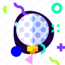 adaptive, golf, ios, isolated, material design, sport icon