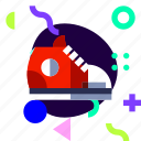 adaptive, basketball, ios, isolated, material design, sneaker, sport icon