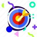 adaptive, archery, ios, isolated, material design, sport icon