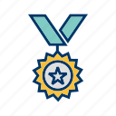 medal, prize, winner icon