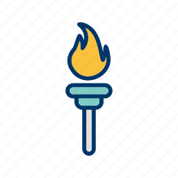 decoration, flaming, games, olympics games, power, rio icon