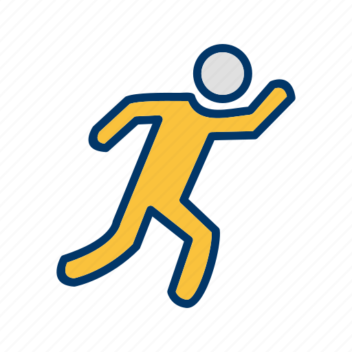 athlete, marathon, runner, running icon