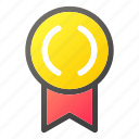 award, badge, competition, medal, sport, trophy, winner icon