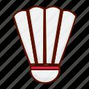 badminton, cock, shuttlecock, sport icon icon