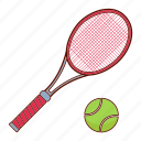 racket, sport, tennis, tennis racket icon