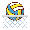ball, nets, sport, volley, volleyball