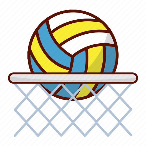 ball, nets, sport, volley, volleyball icon