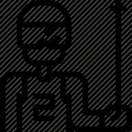 avatar, man, ski, snowboard, sport, sports, winter icon